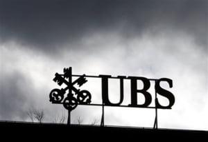 UBS a inregistrat o pierdere trimestriala de 1,75 miliarde dolari