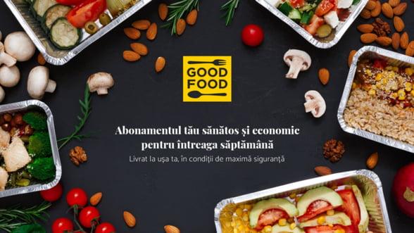 UNIVERSUM lanseaza GOOD-FOOD.ro, abonamentul economic de mancare livrata in conditii de maxima siguranta