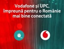 UPC Romania va deveni Vodafone Romania din data de 31 martie
