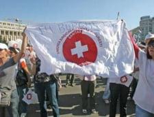 UPDATE: Federatia Sanitas, in greva de avertisment: Peste 100.000 de angajati din sistem