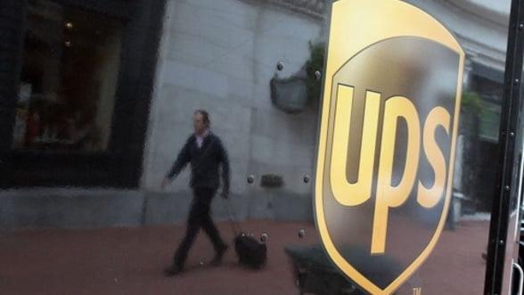 UPS: Venituri in crestere cu 4,4% in T1