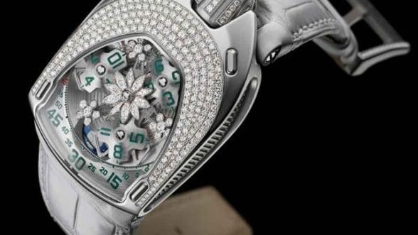 UR-106 Flower Power, o minunatie de ceas de la Urwerk