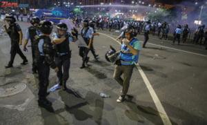 USR vrea modificarea legii: Jandarmii sa poata fi identificati pe baza unui numar afisat pe uniforma