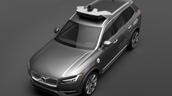 Uber foloseste in premiera masini fara sofer - curse gratuite cu Volvo XC90