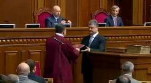 Ucraina are un nou presedinte: Nu vreau razboi, avem nevoie de pace