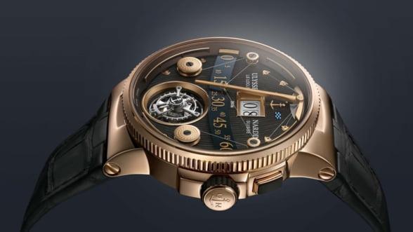 Ulysse Nardin loveste din nou. Cum iti place noul ceas tourbillon Grand Deck? (Video)