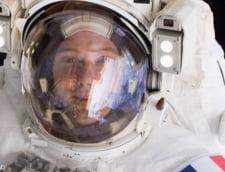 Un astronaut de pe Statia Spatiala Internationala a intrat in videoconferinta cu profesori din Timisoara