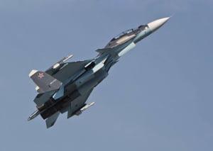 Un avion rus de razboi s-a prabusit: Pilotul a murit