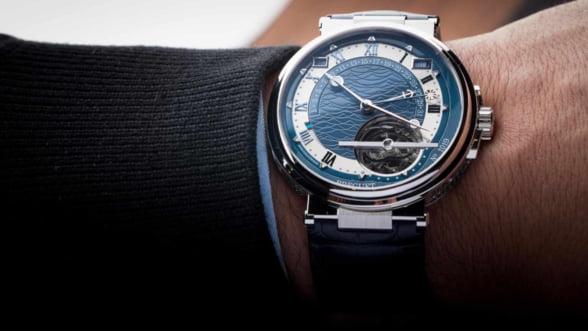 Un ceas care-ti starneste dorul de a naviga: Breguet Maritime Equation Marchant