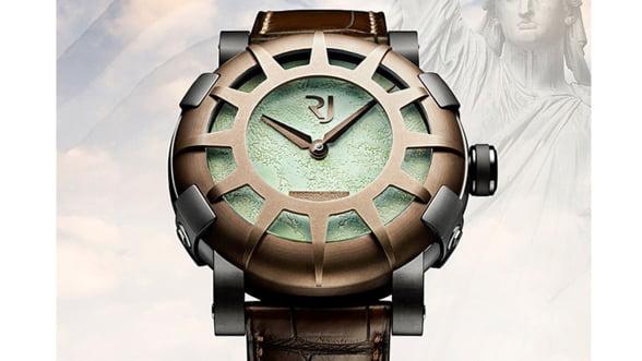Un ceas de lux a fost lansat in cinstea Statuii Libertatii