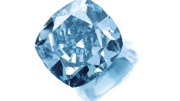 Un diamant albastru foarte rar, estimat la 10 milioane de dolari, descoperit in Africa de Sud