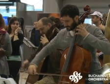Un flashmob muzical pe Aeroportul Henri Coanda face furori pe YouTube