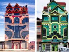 Un fost zidar devenit arhitect autodidact uimeste lumea cu cladirile lui fantastice