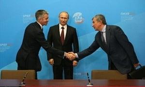 Un gigant al petrolului din UE sfideaza sanctiunile si anunta mari afaceri cu Rusia