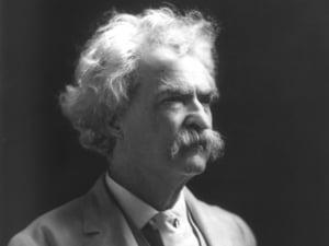 Un manuscris de Mark Twain, vandut pentru 242.500 de dolari