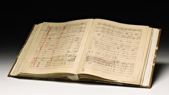 Un manuscris semnat al unei simfonii de Rahmaninov, vandut pentru o suma record