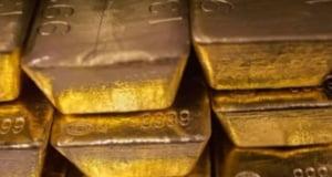 "Un muncitor a gasit aur cu inscriptia ""Swiss Bank"" in timpul unei lucrari"