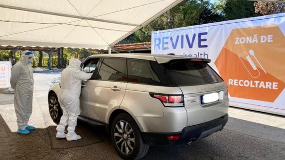 Un nou centru de testare pentru virusul COVID-19, de tip drive-thru, s-a deschis in zona de Nord a capitalei