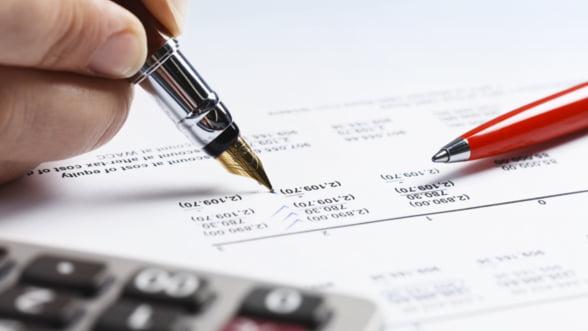 Un nou formular fiscal pentru firme de la ANAF