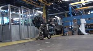 Un robot care pare facut pentru parkour (Video)