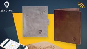 Un roman a creat portofelul inteligent, cu sistem antifurt. Cum functioneaza si cat costa Interviu