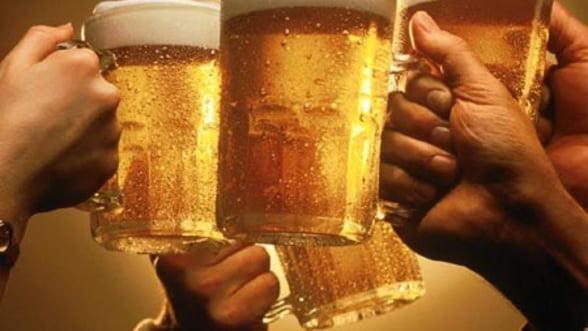Un roman munceste de cinci ori mai mult decat media europeana pentru o bere