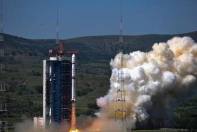 Un satelit lansat in spatiu de China a fotografiat cu claritate o trecere de pietoni