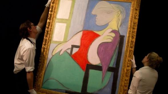 Un tablou pictat de Pablo Picasso, vandut la licitatie cu 45 milioane de dolari