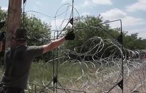 Ungaria se baricadeaza: Daca va fi nevoie, ridicam un gard si la granita cu Croatia