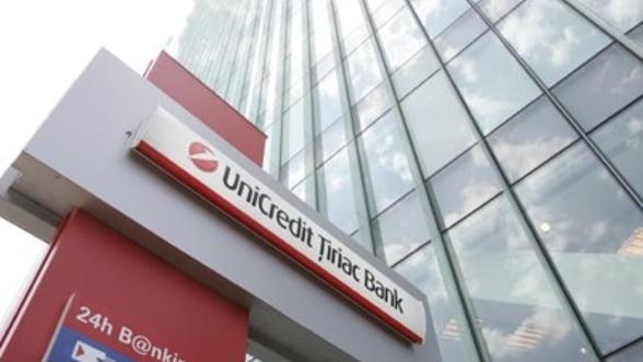 UniCredit Tiriac Bank: Profit net in scadere cu 6,9%