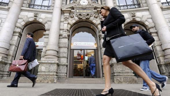 UniCredit vinde actiuni in valoare de sapte milioane de euro