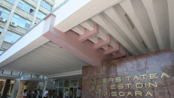 Universitatea de Vest din Timisoara vrea sa atraga fonduri de 7 milioane de euro: Singura noastra optiune este sa investim continuu