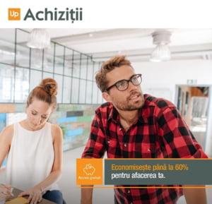 Up Achizitii, platforma online care iti da acces la furnizori de top, la cele mai avantajoase preturi