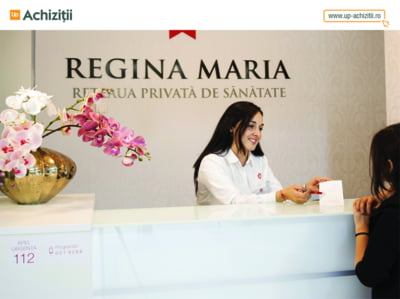 Up Romania si Reteaua de sanatate REGINA MARIA sustin companiile mici si mijlocii oferind acces la servicii medicale de calitate, in conditii preferentiale