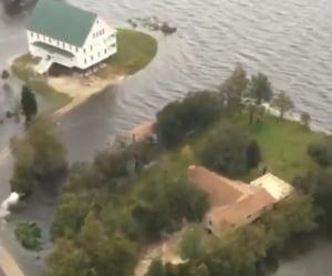 Uraganul Florence a provocat dezastru in America si continua: Cel putin 16 oameni au murit (Video)