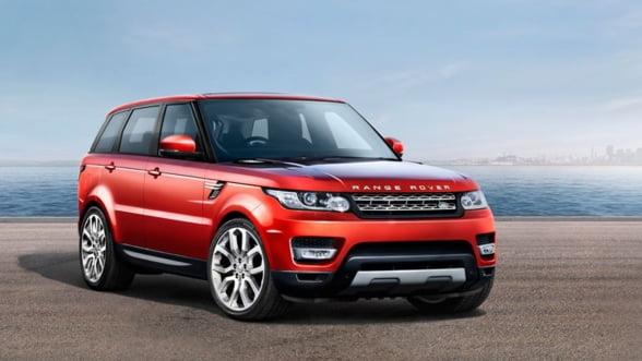 Urca la volanul noului Range Rover Sport