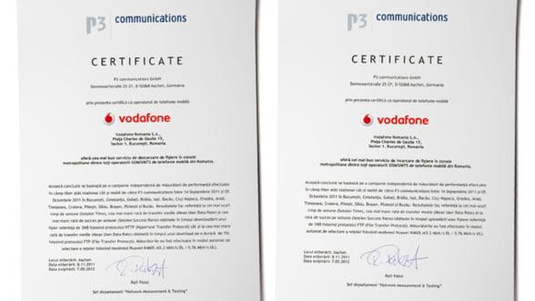 Utilizatorii serviciilor Vodafone de Internet mobil se bucura de cea mai buna experienta si acoperire a retelei