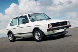 VW Golf Mk1 a incheiat o cariera de 25 de ani