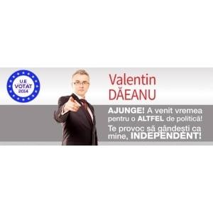 Valentin Eugen Daeanu transmite un apel la solidaritate catre toti candidatii independenti