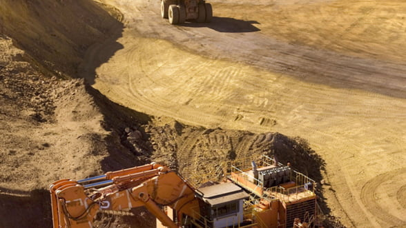 Valoarea companiilor miniere a scazut cu 23%, anul trecut. Sectorul aurifer, cel mai afectat