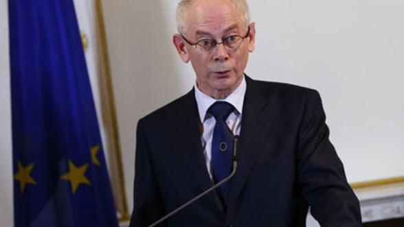 Van Rompuy si Barroso vor negocia bugetul UE cu fiecare tara membra in parte