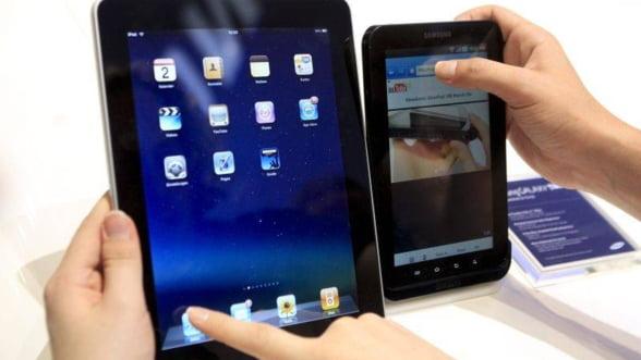 Vanzari record de sarbatori. 19% dintre americani detin o tableta