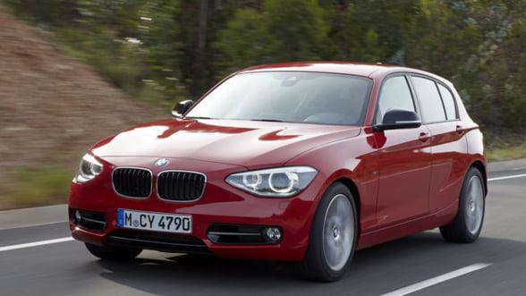 Vanzarile BMW in Romania au crescut cu 15% in 2012