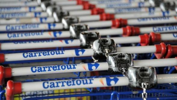 Vanzarile Carrefour Romania au crescut cu 2% anul trecut