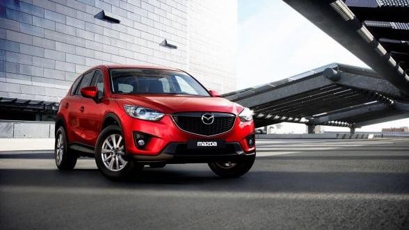 Vanzarile Mazda in Europa au crescut cu 18% anul trecut