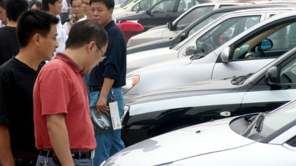 Vanzarile auto din China au crescut cu 21% in septembrie, datorita redresarii brandurilor din Japonia