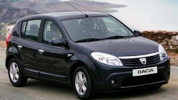 Vanzarile de autoturisme Dacia pe piata franceza au crescut cu 18% in noiembrie