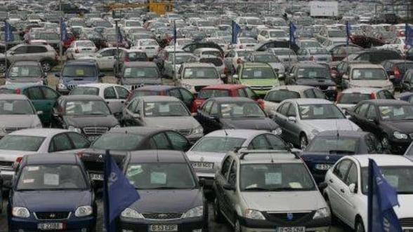 Vanzarile de autoturisme au scazut cu 11% in 2011
