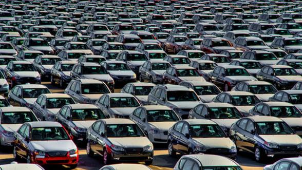 Vanzarile de autoturisme din Romania au scazut cu 6,9% pe primul trimestru