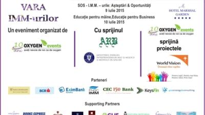 Vara IMM-urilor: asteptari, oportunitati, finantare si educatie pentru business